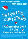 hhs swinging christmas 2017 plakat